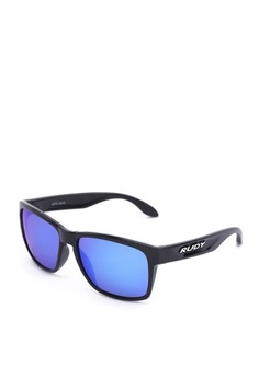 dfa10ee383 Rudy Project. Spinhawk Eyewear in Crystal Gloss with Multilaser Blue ...