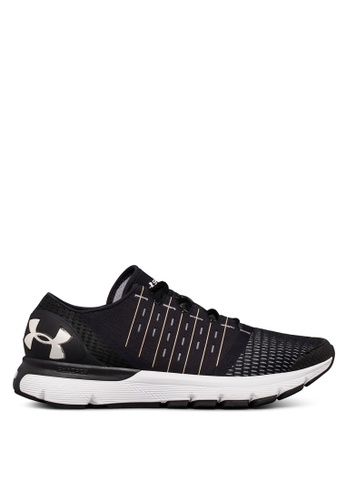 Under Armour black UA Speedform Europa Running Shoes FE916SH6C60E7EGS_1