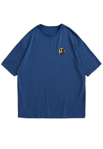 Twenty Eight Shoes Embroidered Casual Short T-shirt 5136S21 B19DDAA704583CGS_1