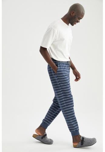 DeFacto navy Slim Fit Homewear Bottoms 8C765AAF1AA9B4GS_1