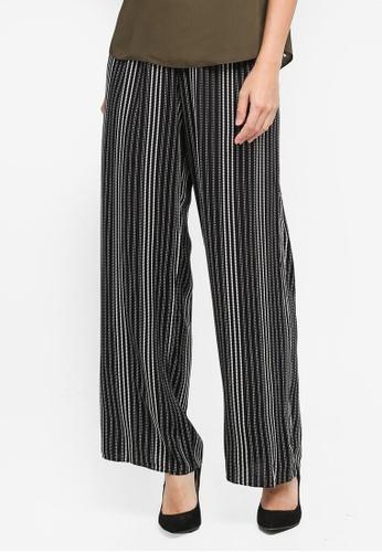 Dorothy Perkins black Petite Palazzo Trousers 365D0AA9BE70FFGS_1