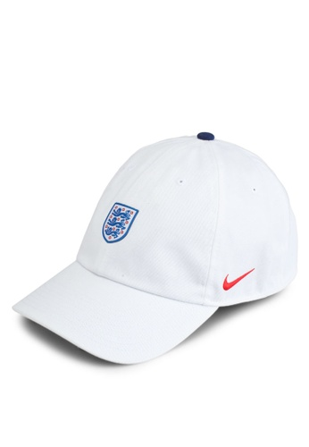 Nike white and red and blue Unisex Nike England Heritage 86 Cap CF6C5AC78FB3C1GS_1