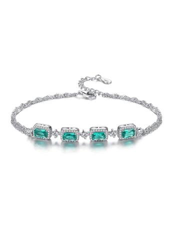 SUNRAIS silver Premium Silver S925 Silver Simple Design Bracelet 16CC9AC507EB24GS_1
