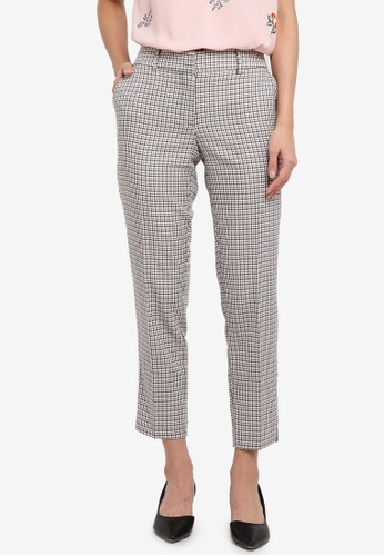 Dorothy Perkins multi Mono/Pink Check Ankle Grazer 8A552AA8229C63GS_1