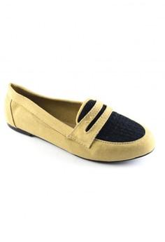 Habi Footwear Women's Blithe Loafers - Tan/Black