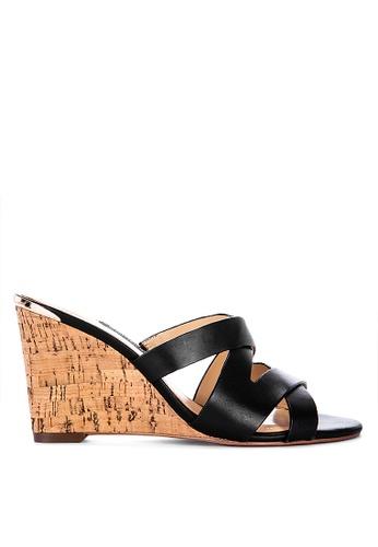 0377708a65 Shop Nine West Lila Wedge Slides Online on ZALORA Philippines