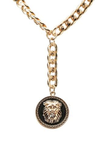 ALDO gold Ocirella Necklace ACF5EACF1731E6GS_1