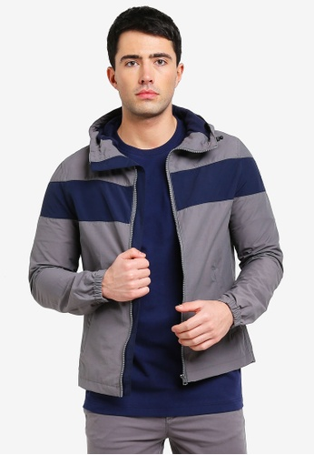 United Colors of Benetton multi Padded Jacket with Hood. CC16EAA2A602E5GS_1