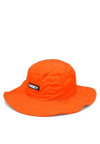 OBEY red Juniper Hat 93FC7AC5362956GS_1