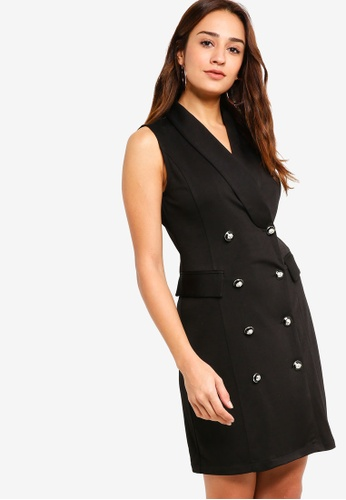 ZALORA black Blazer Dress DBFDDAA8054CD3GS_1