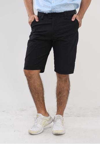 Bossini Men black Reversible Shorts 0642FAA1C15AC4GS_1