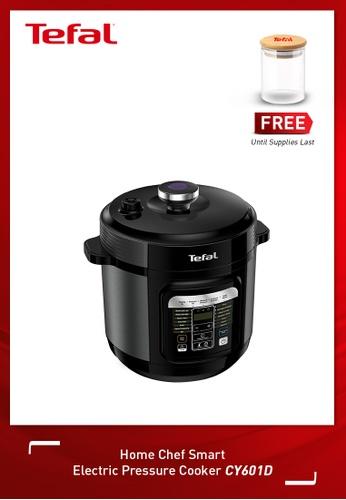 Tefal black Home Chef Smart Electric Pressure Cooker 049E9HL3C727F6GS_1