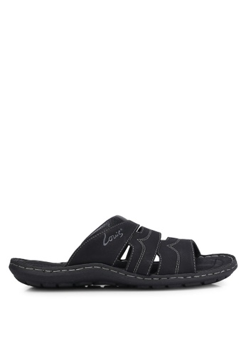 Louis Cuppers black Casual Sandals LO977SH0RJGNMY_1