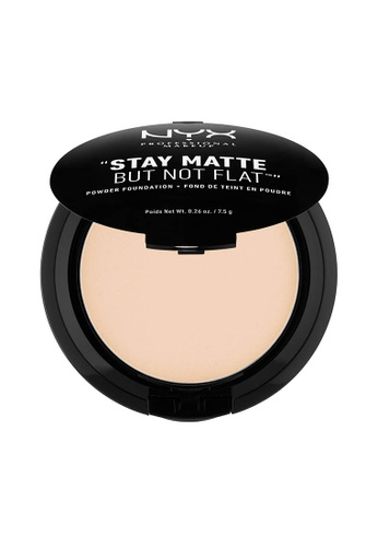 NYX Professional Makeup beige NYX Professional Makeup Stay Matte Powder Foundation- IVORY 188EDBEE3C6654GS_1