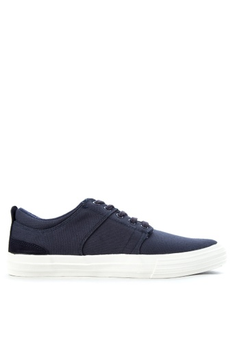 SONNIX navy Windu  Q217 Lace Up Sneaker Shoes SO490SH09WAWPH_1