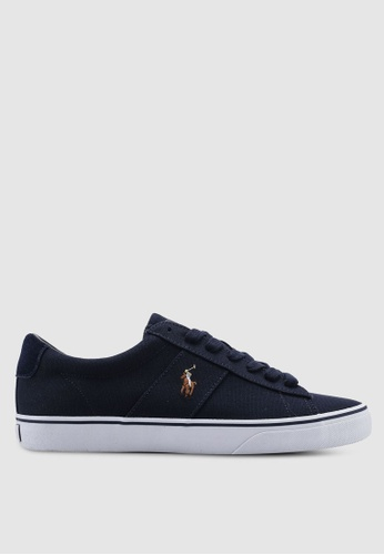 Polo Ralph Lauren navy Sayer Sneakers AC207SH61A3F32GS_1