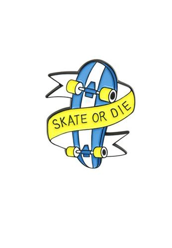 Kings Collection blue Skateboard Enamel Pins (KCPN1136) 066ACAC01FD545GS_1