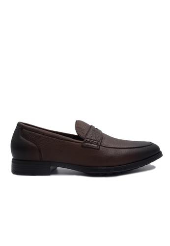 Goldlion brown Goldlion Premium Loafer Shoes in Brown (HSH207SP92B-70) 62448SH745576DGS_1