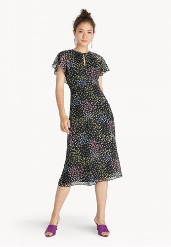 98a8e3b8527 Buy Pomelo Midi Back Cape Strappy Dress - Black Online on ZALORA ...