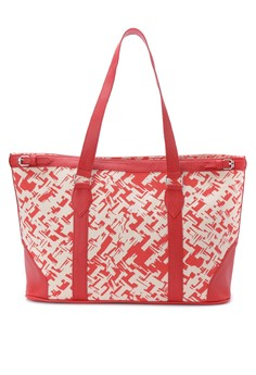 Two-toned Tote Canvas Milano