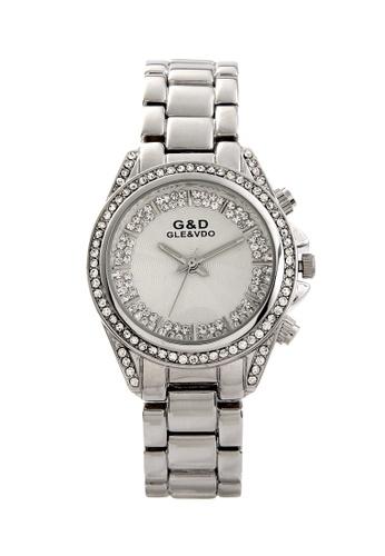 Sk Time Watch Shop silver Japan Design Silver Plating Lady Fashion Bracelet Crystal Watch SK518AC01ACKPH_1