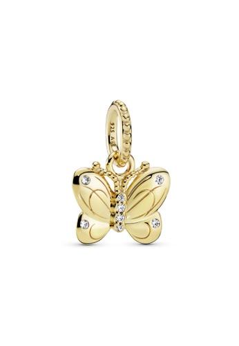 Pandora gold Pandora Butterfly Pendant CEC20AC51F43FAGS_1