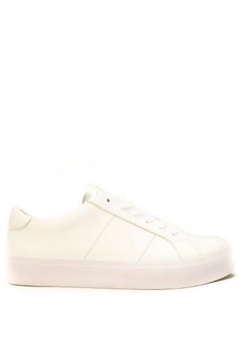 CDE white CDE Walter Men Sneaker - White/Silver 13E58SHD0C1875GS_1