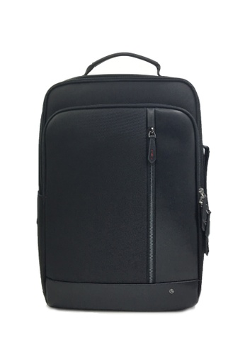Goldlion black RFID Traveler Backpack (Black) 24BDBACD78E975GS_1