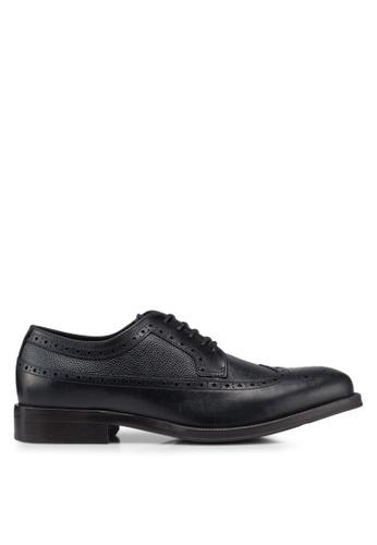 ALDO black Broeri Brogue Lace Up Shoes 009EFSH7B17B5FGS_1