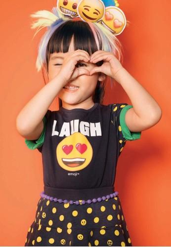 Bossini navy Bossini Kids Girl T-Shirt Ink (14084706054) AD617KA16E85A0GS_1