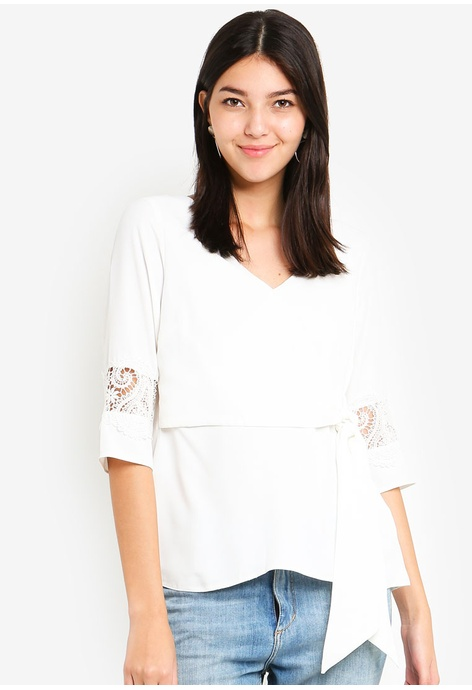 33768cb1b13549 Shop Dorothy Perkins Tops for Women Online on ZALORA Philippines