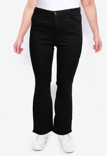 Dorothy Perkins black Plus Size Black Bootcut Jean 302BAAAD1EAC1BGS_1