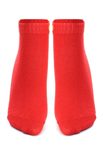 Hamlin red Hamlin Nercyla Kaos Kaki Wanita Love Ankle Socks Casual Footwear Material Spandex ORIGINAL 5B337AA48E4FC2GS_1