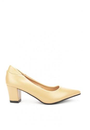 Cardam's Lifestyle beige CLS 95660 Beige Heel Pumps 0294CSH230F0C3GS_1