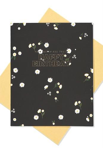 Typo black Nice Birthday Card 2BA07AC331F7DBGS_1