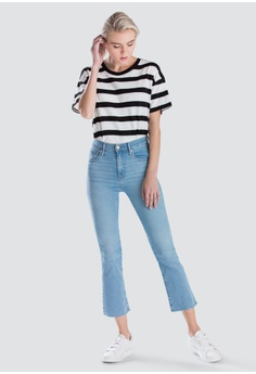 76a3f79ad8 Levi s Levi s Mile High Crop Flare Jeans Women 72939-0003 RM 259.00.  Available in several sizes