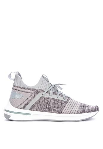Puma grey Ignite Limitless Sr Evoknit Training Shoes 02514SH49749D3GS_1