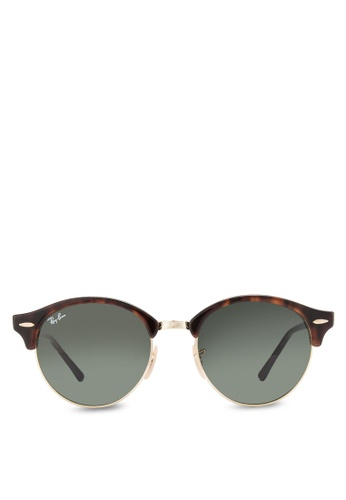 e66a74c577 Buy Ray-Ban Clubround RB4246 Sunglasses Online on ZALORA Singapore