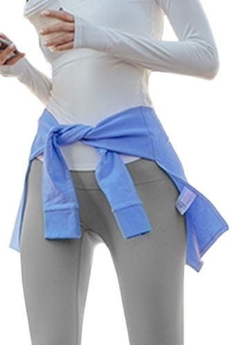 Sunnydaysweety blue Yoga and Sports Hip-Hiding Cover A21031711BL E67E1AA544A575GS_1