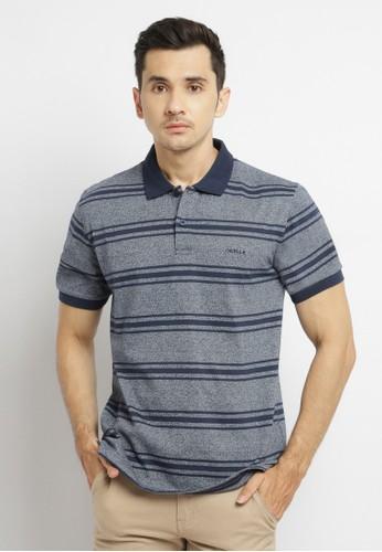 Osella blue Osella baju pria polo shirt misty81/ blue 74FBEAA3456D3BGS_1