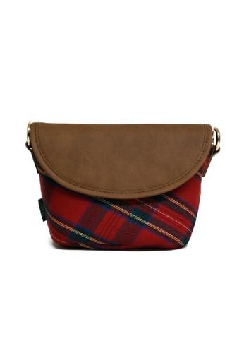 ideer red Highland  Mini Rouge Mirrorless Camera Cross Bag ID808AC99OFKPH_1