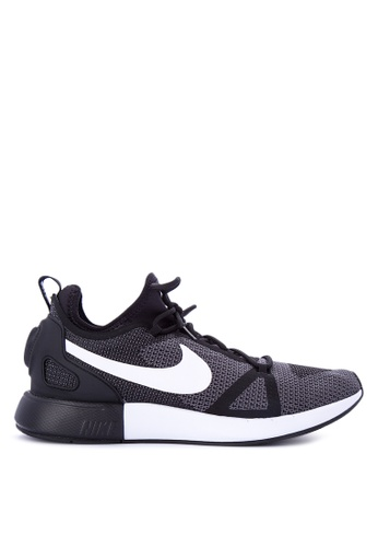 Nike black and grey Men's Nike Duel Racer Shoes NI126SH0KPW3PH_1