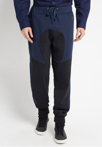 (X) S.M.L black and multi and navy Veto Sport Pants XS330AA0WE9FID_1