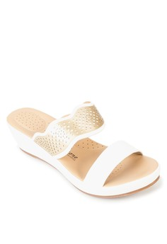 Mia Wedge Slides