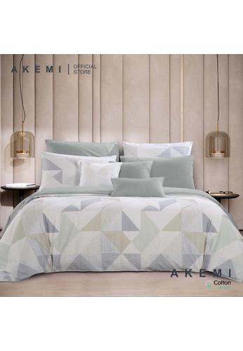 AKEMI beige AKEMI Cotton Select Adore - Rophica (Fitted Sheet Set) 931E2HL176B141GS_1