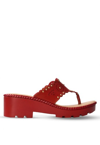 CLARETTE red Clarette Wedges Kadence - Red CL076SH78CKFID_1