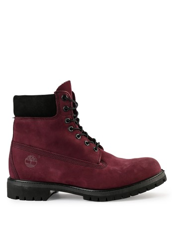 "Timberland red 6"" Premium Boot 173E0SHA274FEBGS_1"