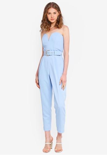23eb6293c215 Buy Miss Selfridge I Bandeau Belted Jumpsuit