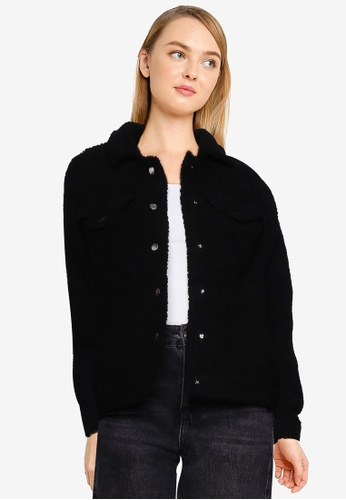 Brave Soul black Western Style Jacket ECB30AAB79C7F7GS_1