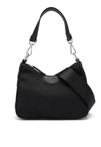 Forever New black Jordyn Curved Top Shoulder Bag 8ECD4ACC0F0638GS_1